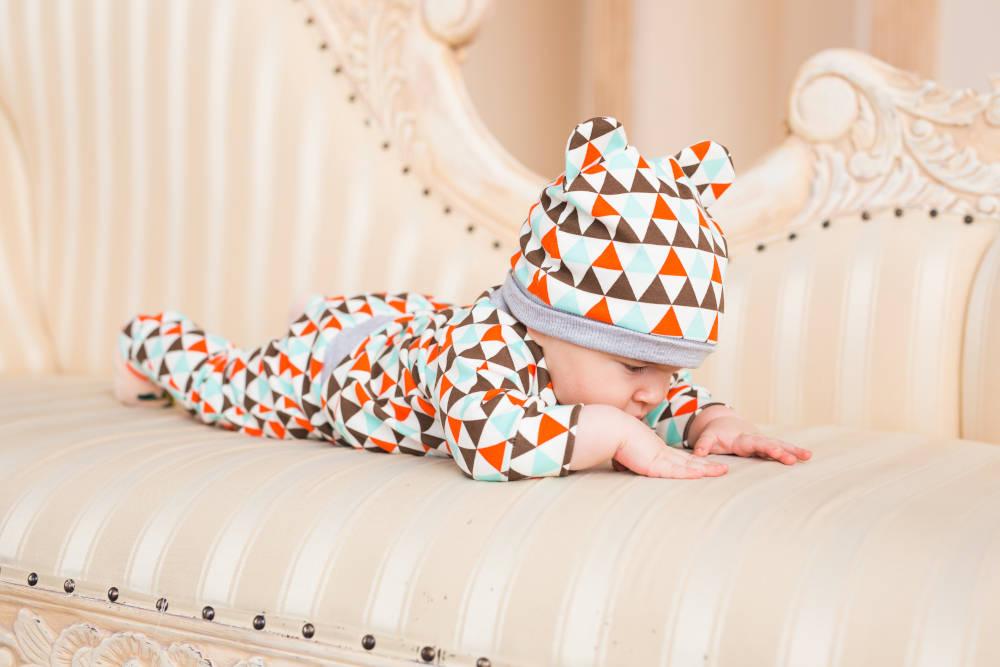 Camera bebelusului pat confortabil